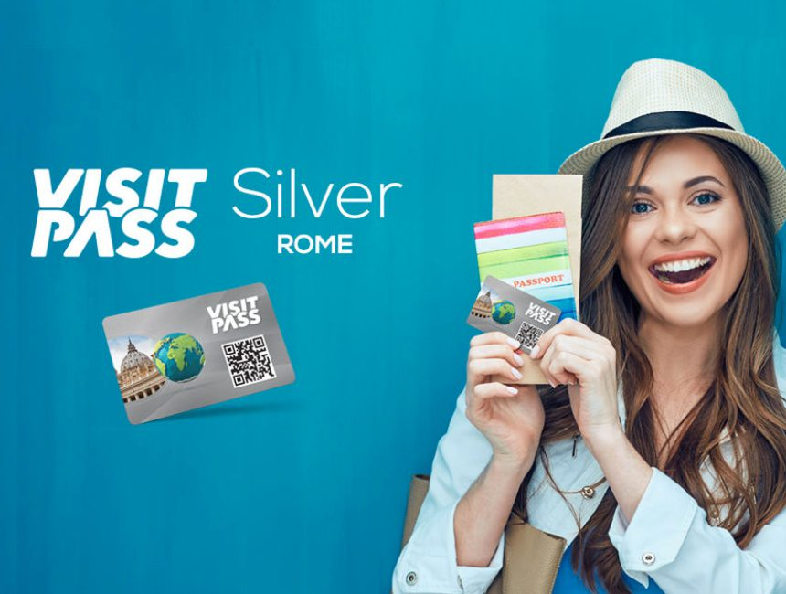 Rome visit pass silver