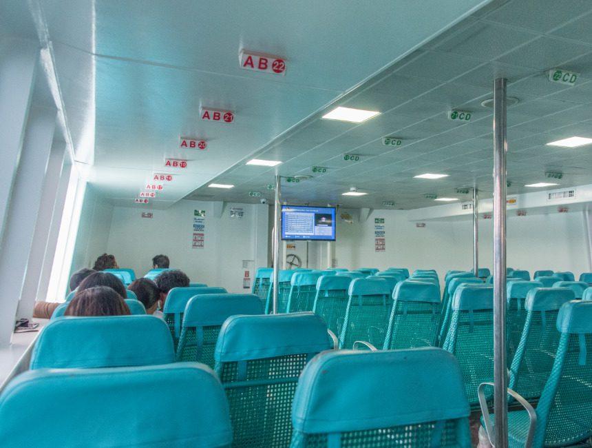 rondreis Filipijnen ferry