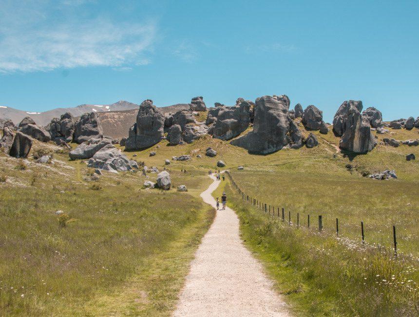 rondreis Nieuw-Zeeland Castle Hill