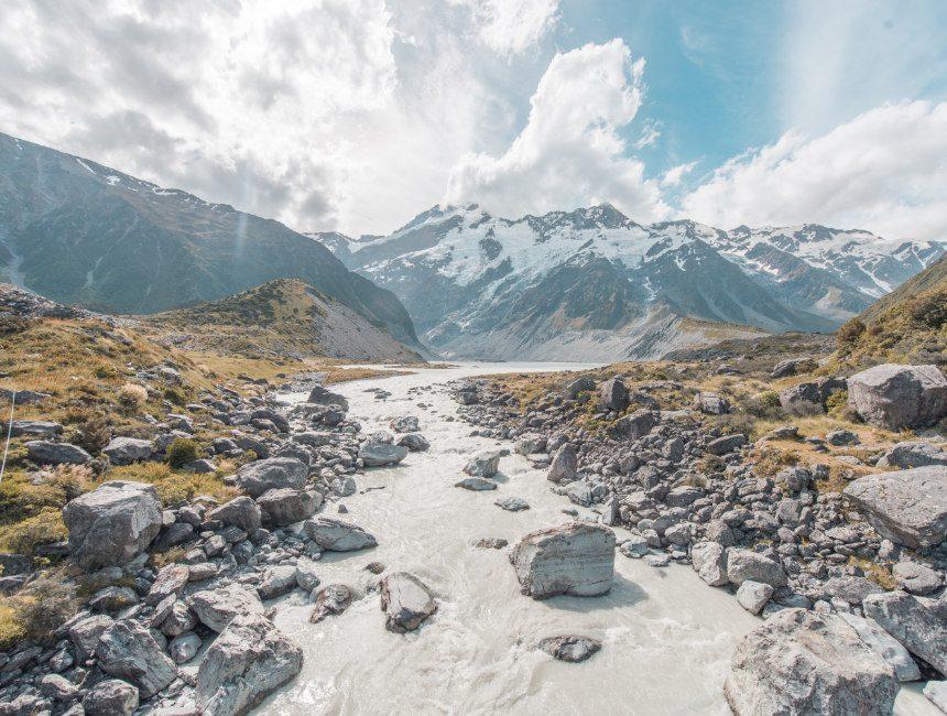 rondreis nieuw-zeeland hooker valley track