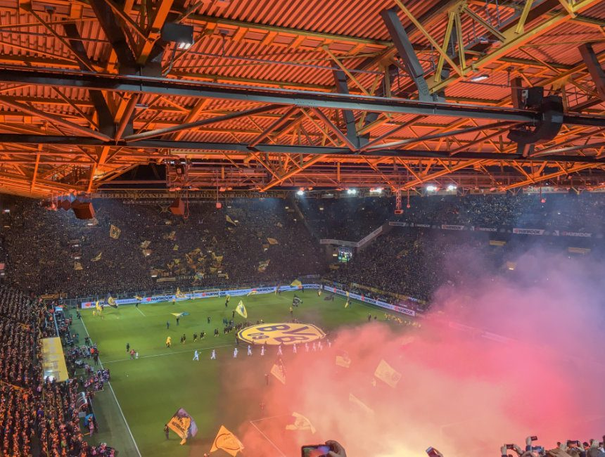 voetbalreis Dortmund
