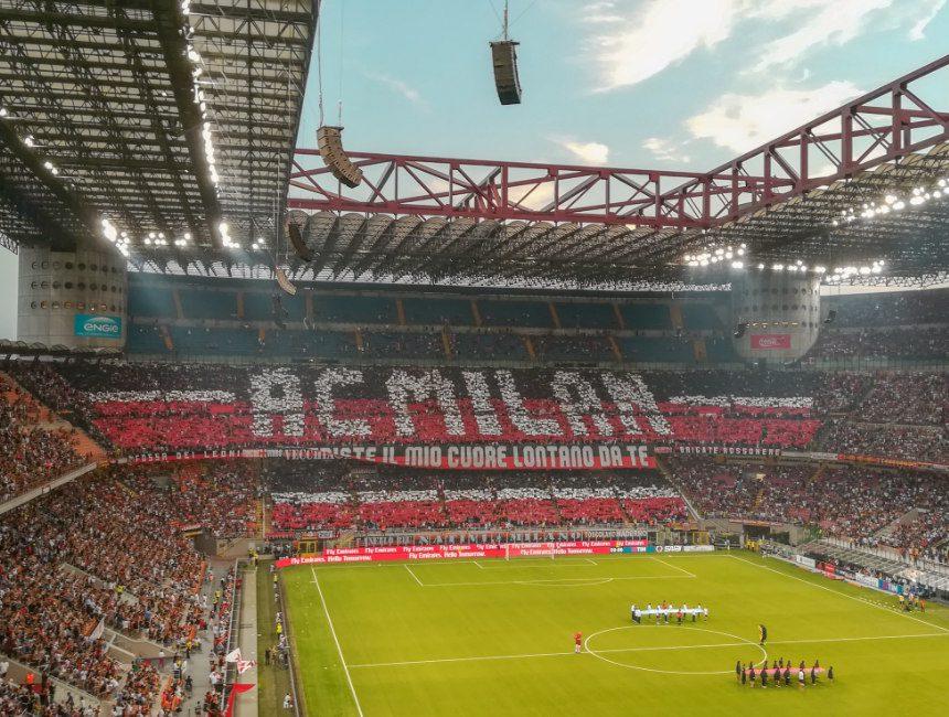 voetbalreizen Italië AC Milan
