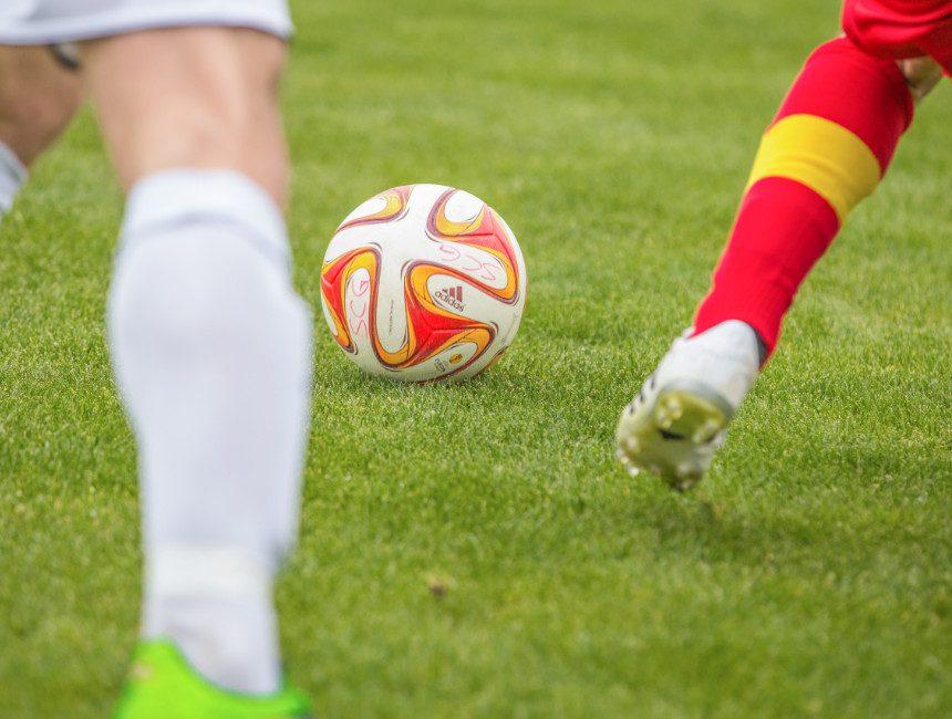 voetbalwedstrijd buitenland