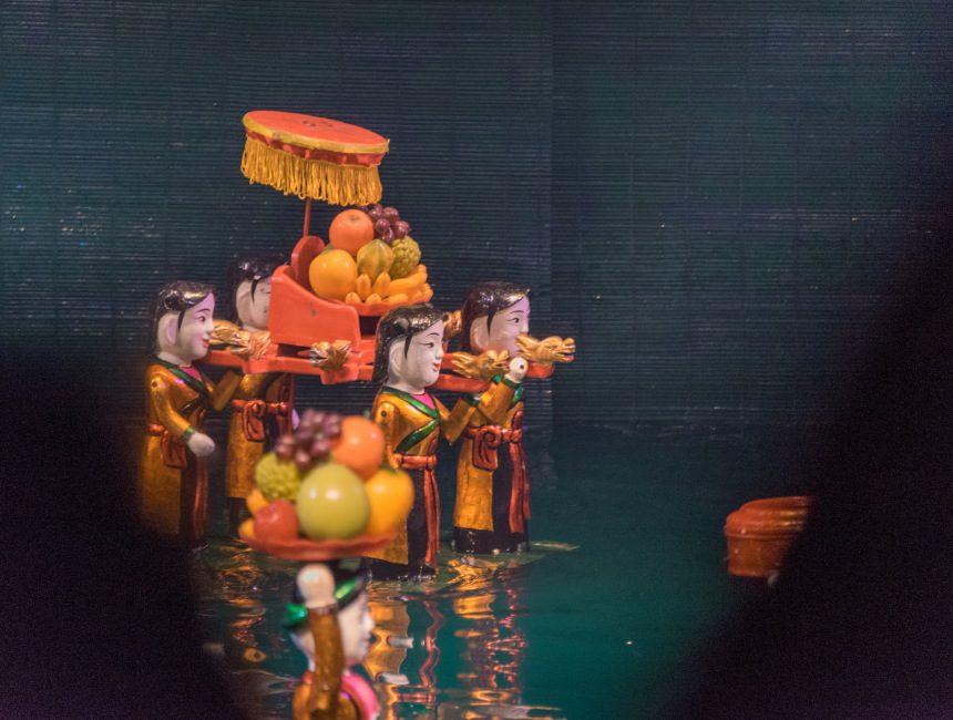waterpoppentheater vietnam rondreis hanoi