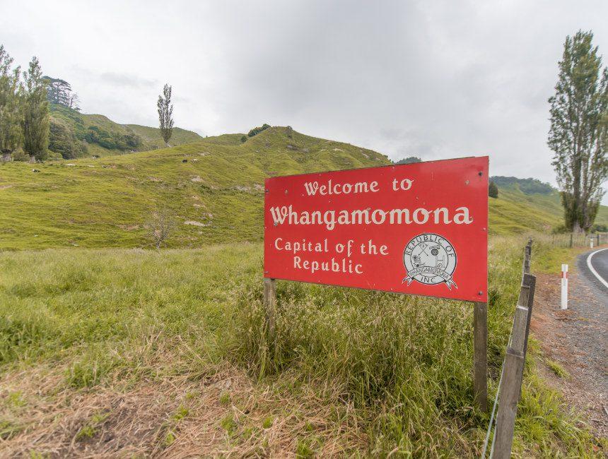 Whangamomona Nieuw-Zeeland