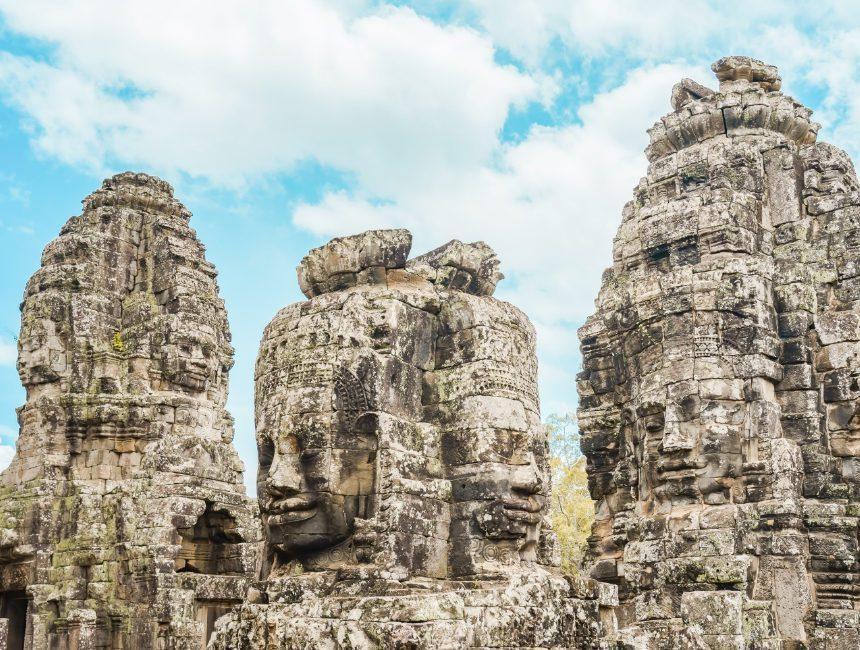 Angkor Thom reizen Cambodja