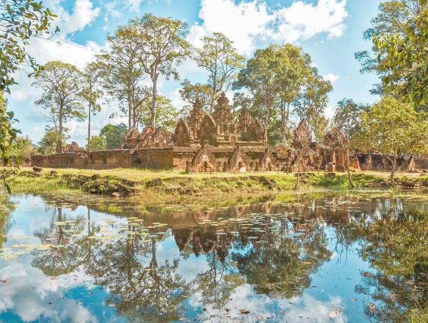 Banteay Srey tempel Siem Reap