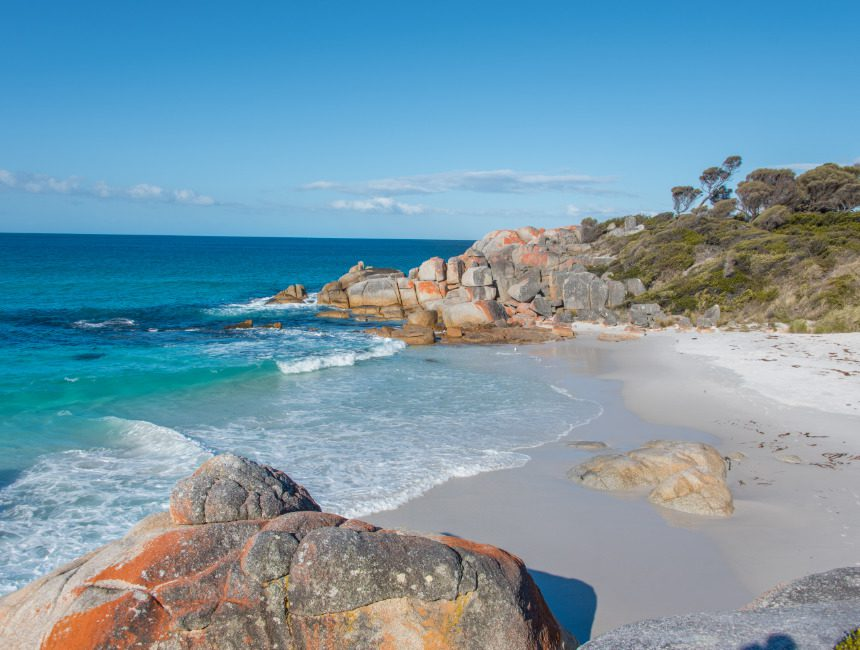 Bay of Fires Tasmanie Rondreis