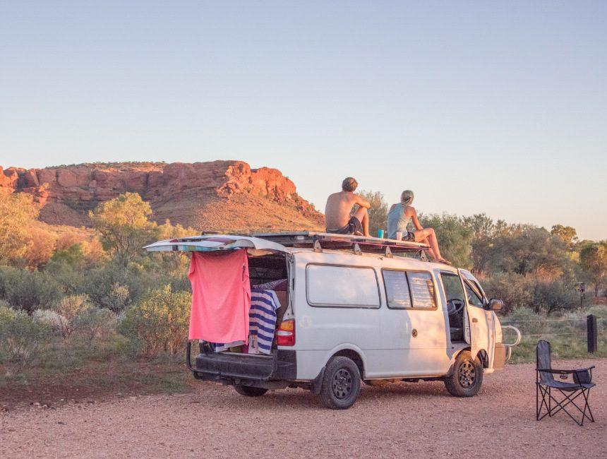 camperreis Australië