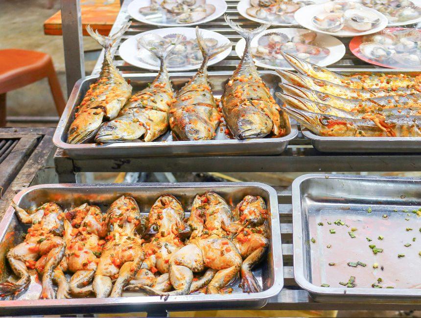 eten in Cambodja