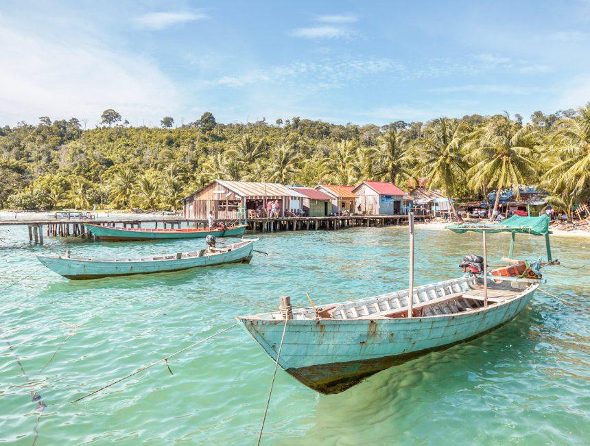 Kep Cambodja rondreis