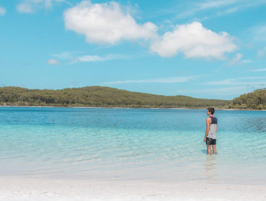 Lake McKenzie Fraser Island rondreis