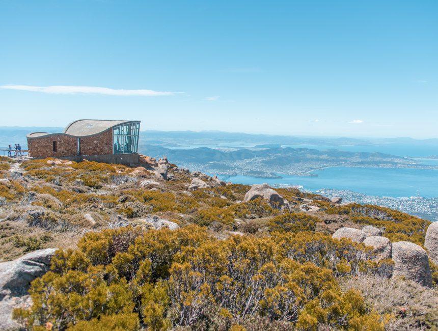 Mount Wellington uitzicht Hobart