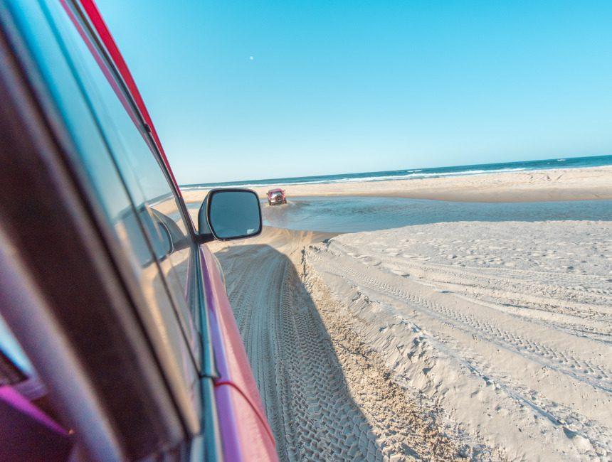 off road Fraser Island