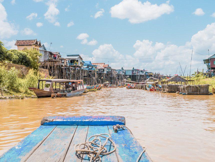 Tonle Sap meer Cambodja