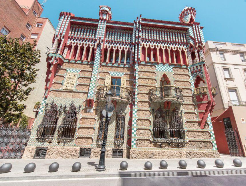 Casa Vicens bezienswaardigheden Barcelona