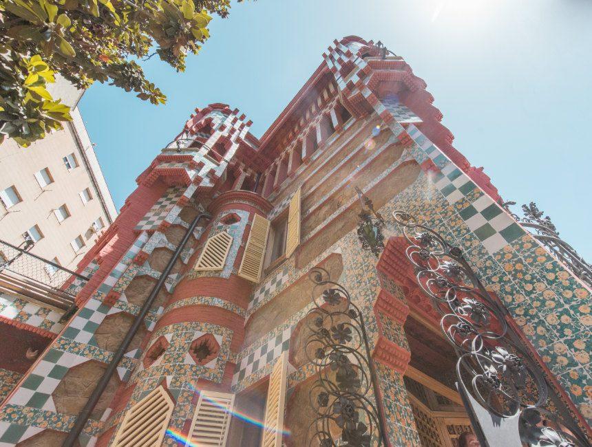 Gaudi Barcelona casa Vicens