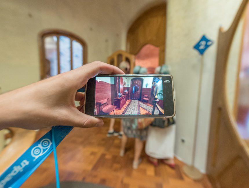 virtual reality casa Batllo