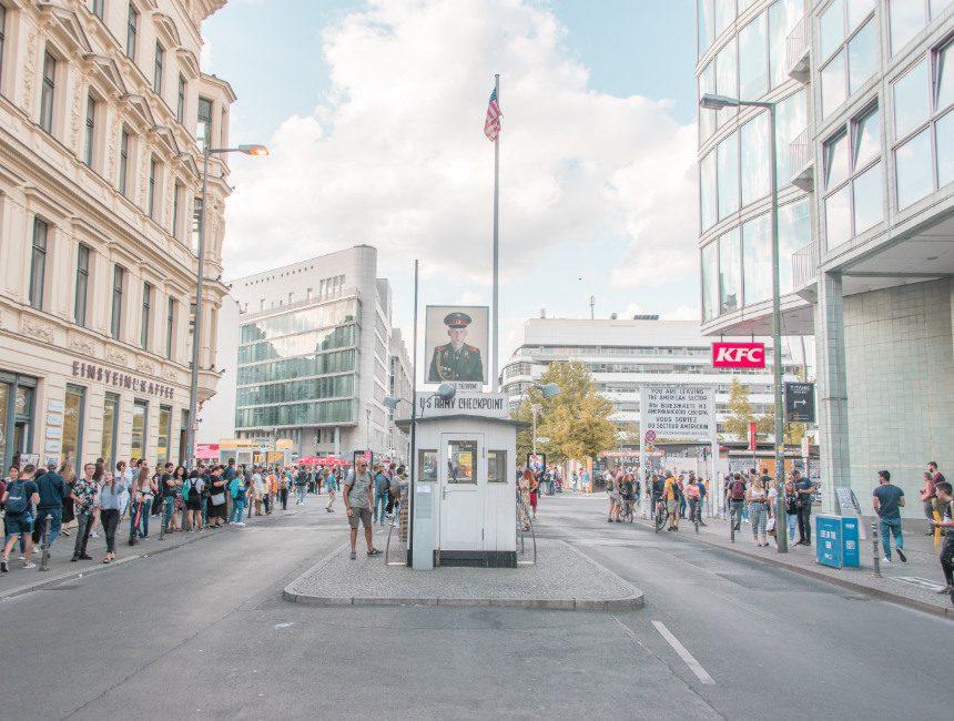activiteiten Berlijn Checkpoint Charlie