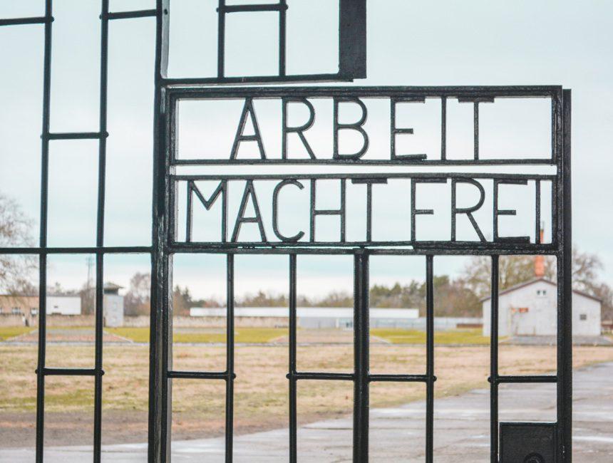 arbeit macht frei Sachsenhausen Berlijn