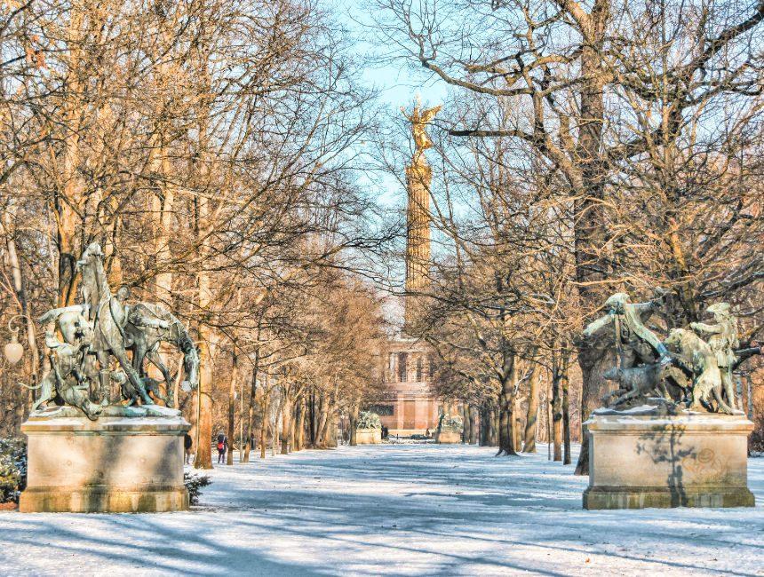 Berlijn wandeltocht Tiergarten
