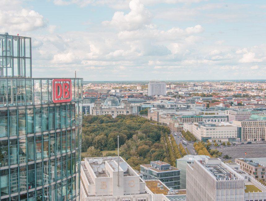 hoogtepunten Berlijn panoramapunkt
