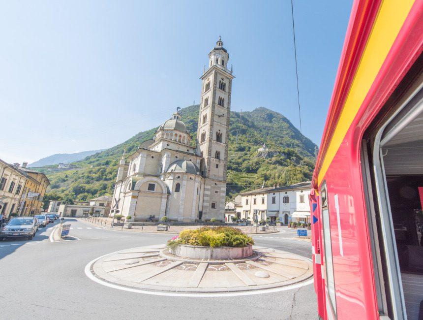 Bernina Express Tirano Santuario della Madonna di Tirano