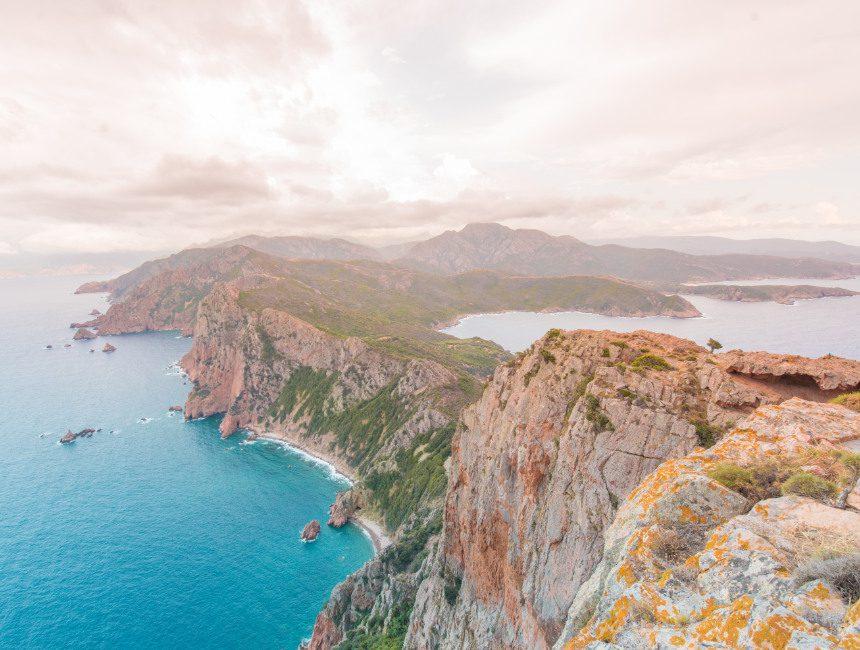 Capo Rosso hike Corsica
