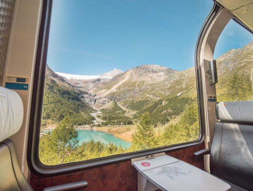 Lago Palü Bernina Express