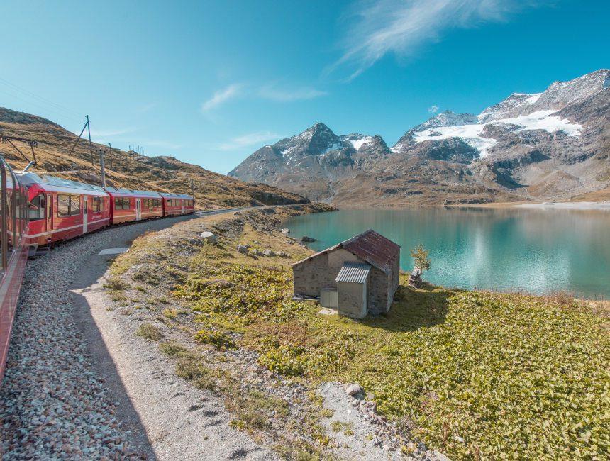 Pontresina Alp Grüm Bernina Express