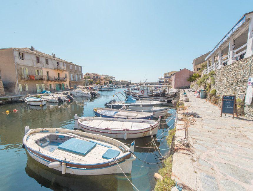 Port de Centuri autorondreis Corsica