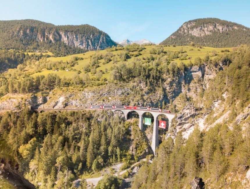 landwasser viaduct UNESCO
