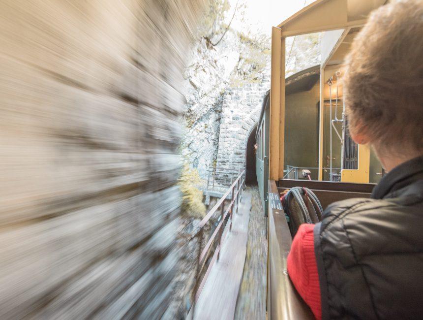 nostalgisch treinritje Graubunden