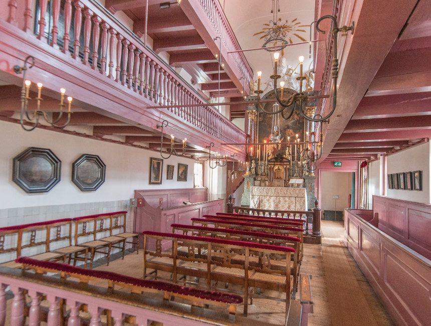 Ons lieve heer op solder Amsterdam verborgen kerk
