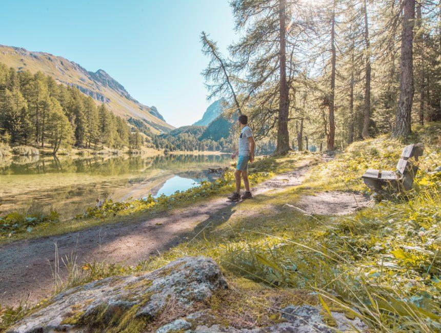 Palpuogna meer Zwitserland