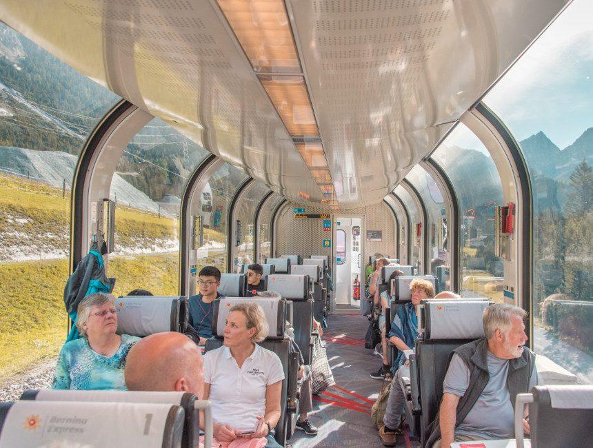 Rhätische Bahn Bernina Express