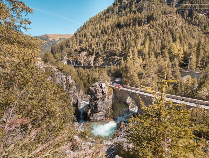 treinen belevingspad Graubünden