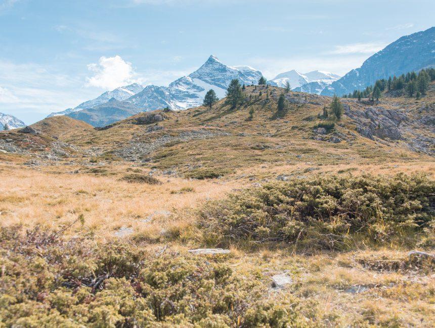 wandeling diavolezza alp grum