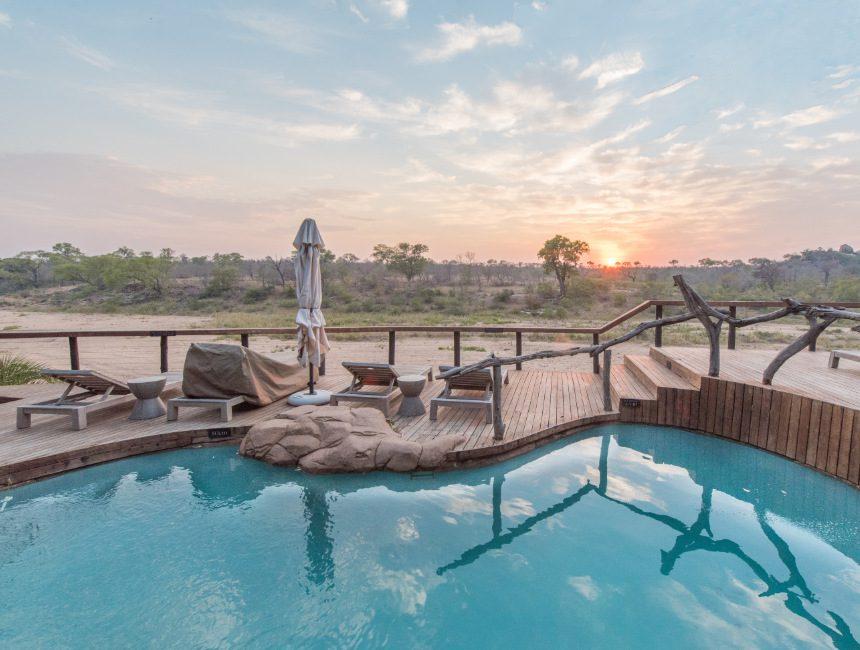 Jock Safari Lodge zwembad