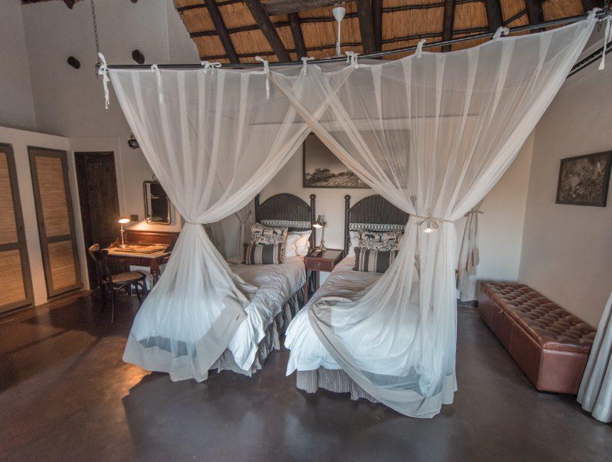 kamers Jock Safari Lodge chalet