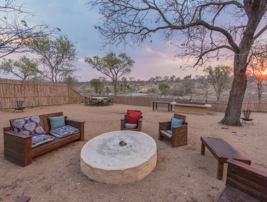 uitkijkplatform nDzuti Krugerpark overnachting