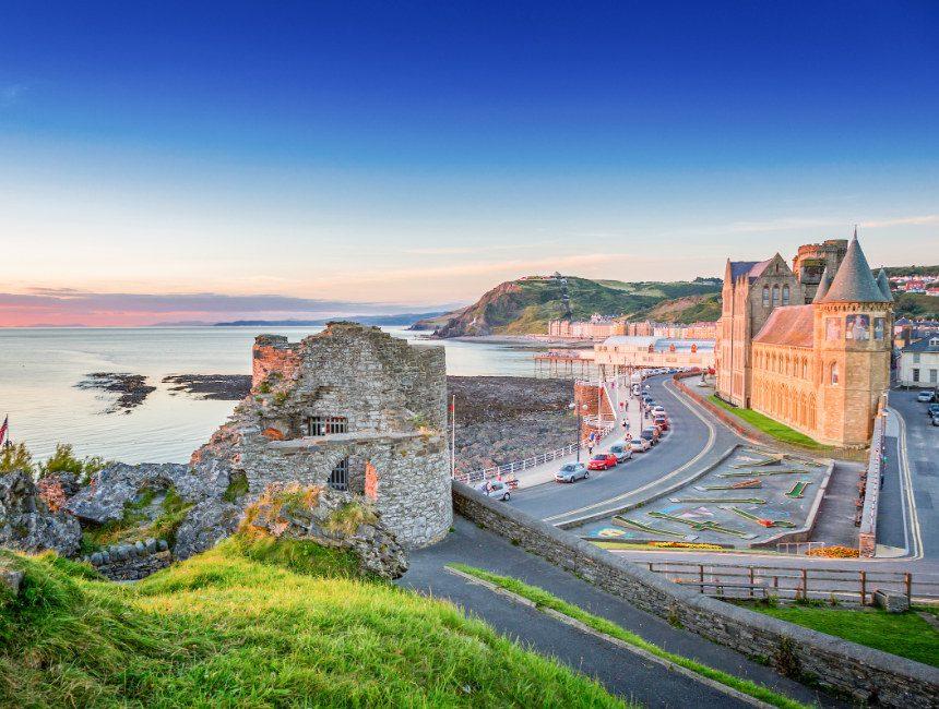 Aberystwyth Wales vakantie
