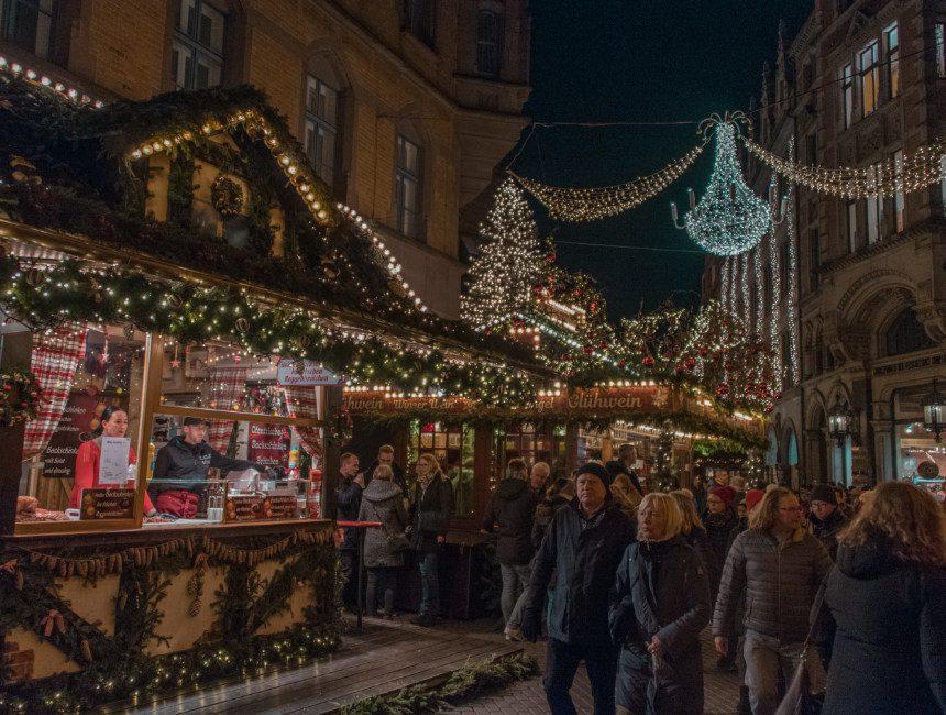 traditionele kerstmarkt Hannover