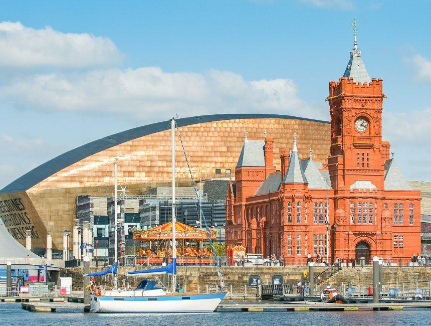 vakantie Wales Cardiff