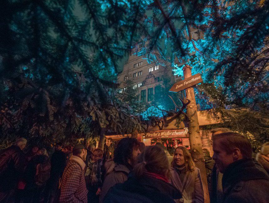 Wenswoud Hannover kerstmarkt Duitsland