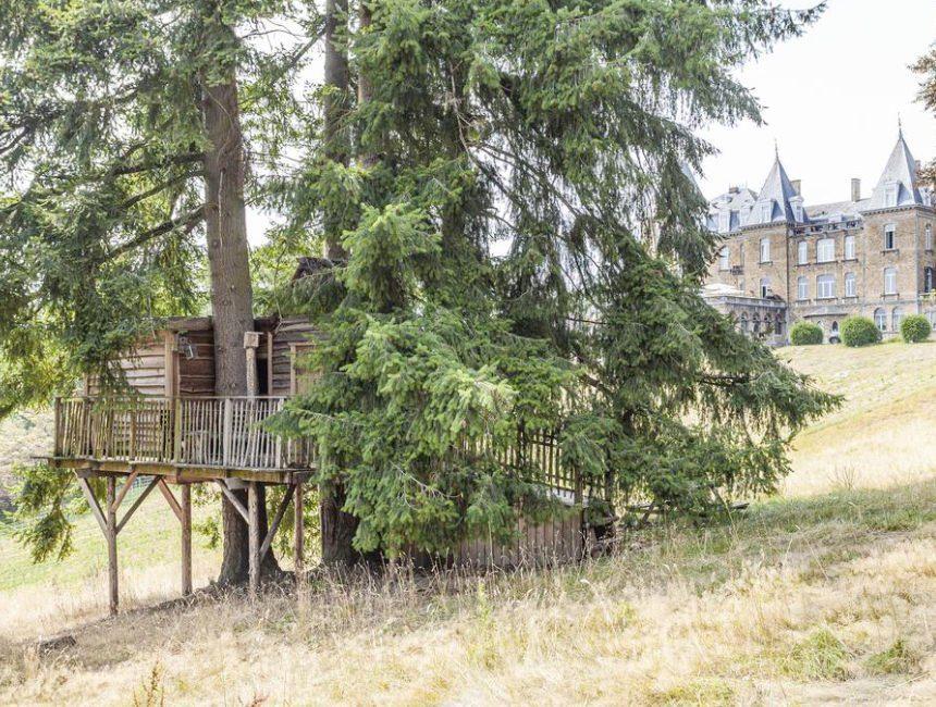 Domaine de Ronchinne origineel overnachten Ardennen