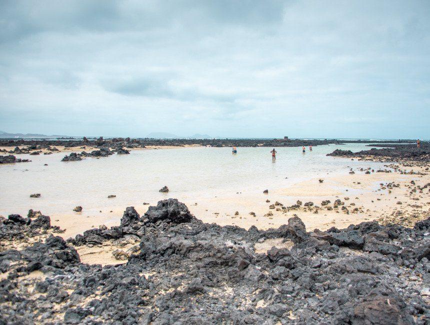 lanzarote stranden Playa Caleton Blanco