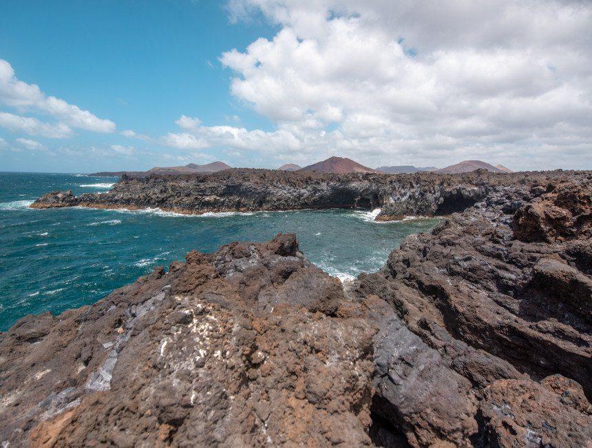 Los Hervideros rondreis Canarische eilanden