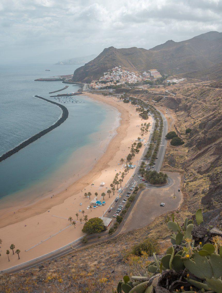 Playa de las Teresitas rondreis Tenerife