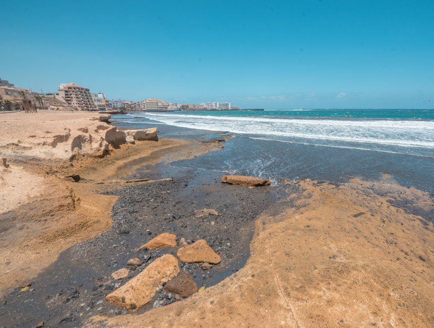 Playa el Medano Tenerife autoroute